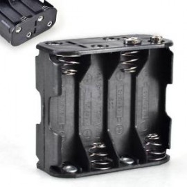 8AA Batteries Storage Box Holder back to back