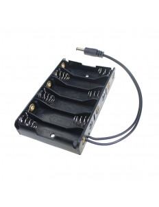 6AA Batteries Storage Box Holder