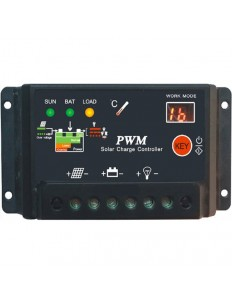SCL 10A PWM SOLAR CHARGE CONTROLLER