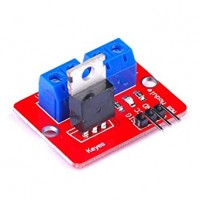 0-24V TOP MOSFET BUTTON IRF520 MOS DRIVER MODULE