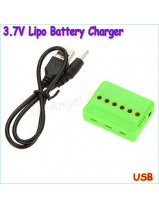 3.7V BATTERY CHARGER 1S ADAPTER USB
