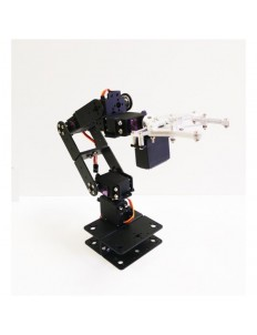 6DOF ALUMINIUM MECHANICAL ROBOTIC ARM