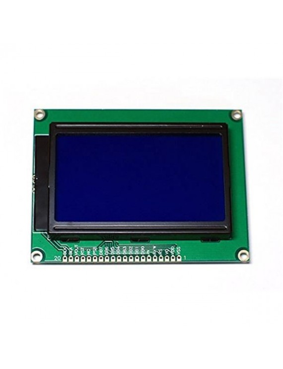 128X64 GRAPHIC LCD BLUE DISPLAY