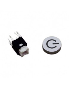 Power Button with Green LED