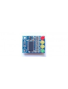 12 V Battery Voltage Indicator with 4 LEDs