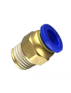 """Pneumatic connector 1/4"""" 6MM"""