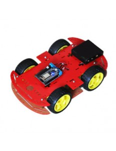 4wd Car Body red