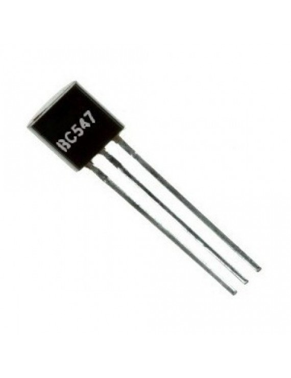 BC547 NPN GENERAL PURPOSE TRANSISTOR 45V 0.1A