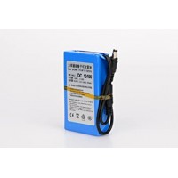 12V 4000MAH RECHARGEABLE LITHIUM-ION BATTERY WITH CHARGER