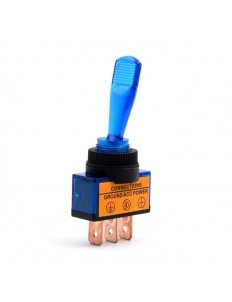 12V 20A Toggle Rocker Switch with LED Light Indicator