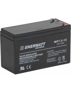 12v 7.5A lead acid BATTERY