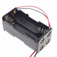4AA Batteries Storage Box Holder back to back