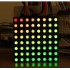 5mm 8*8 Matrix RGB LED 60*60mm Common Anode Full Color