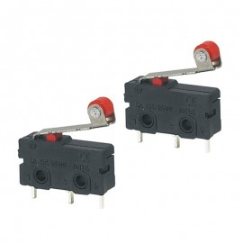 KW12-3 Micro Roller Lever Arm Normally Open Close Limit Switch