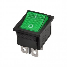 KCD4-201N-3 perforate 30 x 22 mm 30A 4 pin ON - OFF boat rocker switch KCD4 series power switch with 220V light