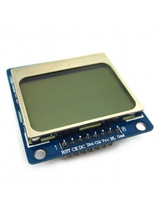 """1.6"""" Nokia-Compatible 5110 LCD Blue"""