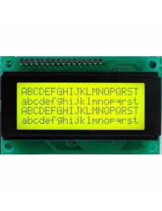 LCD Module Display 20x4 Yellow
