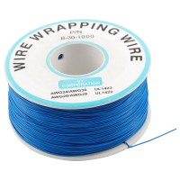 200 m Blue Wire Mini Roll 0.5 mm external diameter x 0.25 mm internal diameter