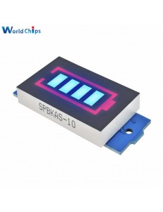 Blue Charge Level Indicator Module for 3S LiPo Batteries (12.6 V Full Charge)
