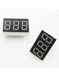 3 Digits 7 Segment LED Display