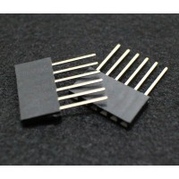 15 PIN Female Header 2.54mm 11MM