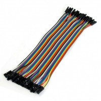 20cm Female to Female 40Pin Jumper Wires
