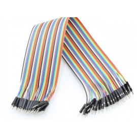 20cm Male TO Male  40Pin Jumper Wires