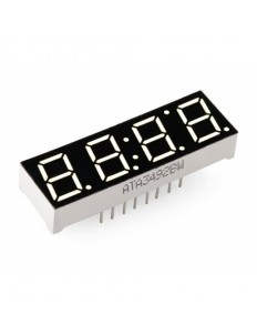 4 digital 7 Segment LED Display