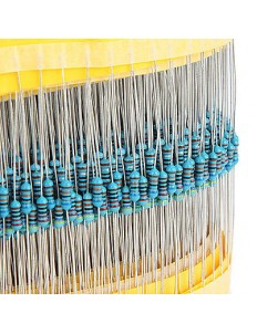 1/4W Metal film resistor package kit  600pcs/lot