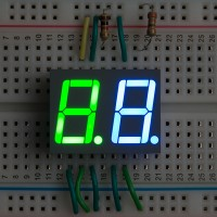 2 Digits 7 Segment LED Display
