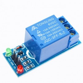 5V  1 Channel Low Level Triger Relay Module With Optocoupler