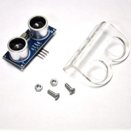 HC-SR04 Ultrasonic Sensor Mount Bracket Holder crystal with Screws