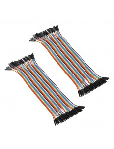 40cm Female to Female 40Pin  Jumper Wires