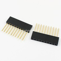 10 PIN Female Header 2.54mm 11MM