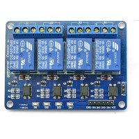 5V 4-Channel Relay Module with optocoupler