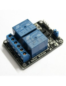 12V 2-Channel Relay Module with optocoupler