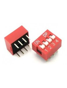 4 POSITION DIP SWITCH