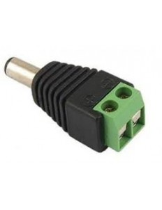 MALE DC POWER ADAPTER - 2.1MM PLUG TO SCREW TERMINAL