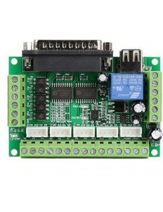 MACH3 5 Axis CNC Breakout Board For Stepper Motor Driver CNC