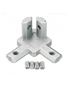 2020 T SLOT ALUMINUM PROFILE CORNER BRACKET 3-WAY FOR 3D PRINTER