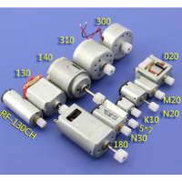 12/bag Motor + gear DIY mould part Miniature dc motor