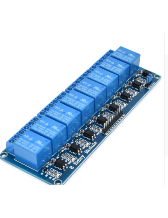 5V 8 Channel Relay Module with optocoupler