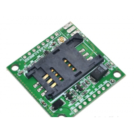 GPRS GSM module A6 SMS Speech Board Wireless Data Trans Adapter Plate 3.3V-4.2V Quad-band AT