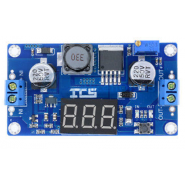 XL6009 DC-DC Adjustable Step-up Boost Power Converter Board + LED + 7 seg