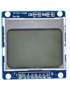 "1.6"" Nokia-Compatible 5110 LCD Blue"