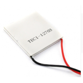 TEC1-12703 TEC Thermoelectric Cooler Peltier Cooling Plate Power Generator