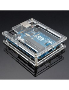 Transparent Acrylic Case Shell For  arduino uno r3
