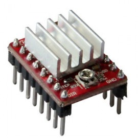 A4988 RAMPS Pololu StepStick stepper motor driver with Heat Sink