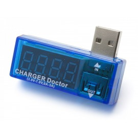 usb power supply voltage and current detector USB