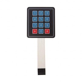 3*4 Matrix Keypad